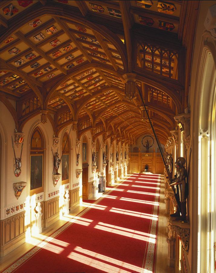 O Salão de São Jorge abriga vários eventos oficiais, inclusive banquetes (foto: divulgação)