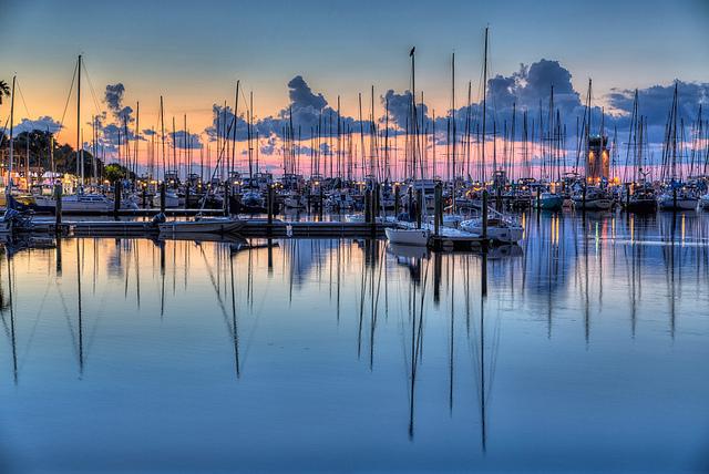 A marina de St. Petersburg (foto: Matthew Paulson/Flirck/creative commons)