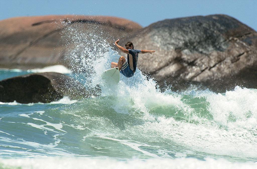 Reduto do surfe, Itamambuca é a praia mais famosa do litoral norte de Ubatuba (foto: Renato Pizzutto)