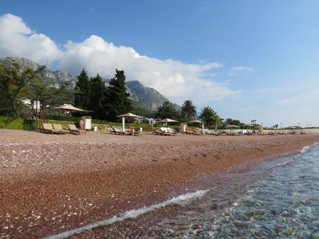A paz reina em Sveti Stefan, em Montenegro