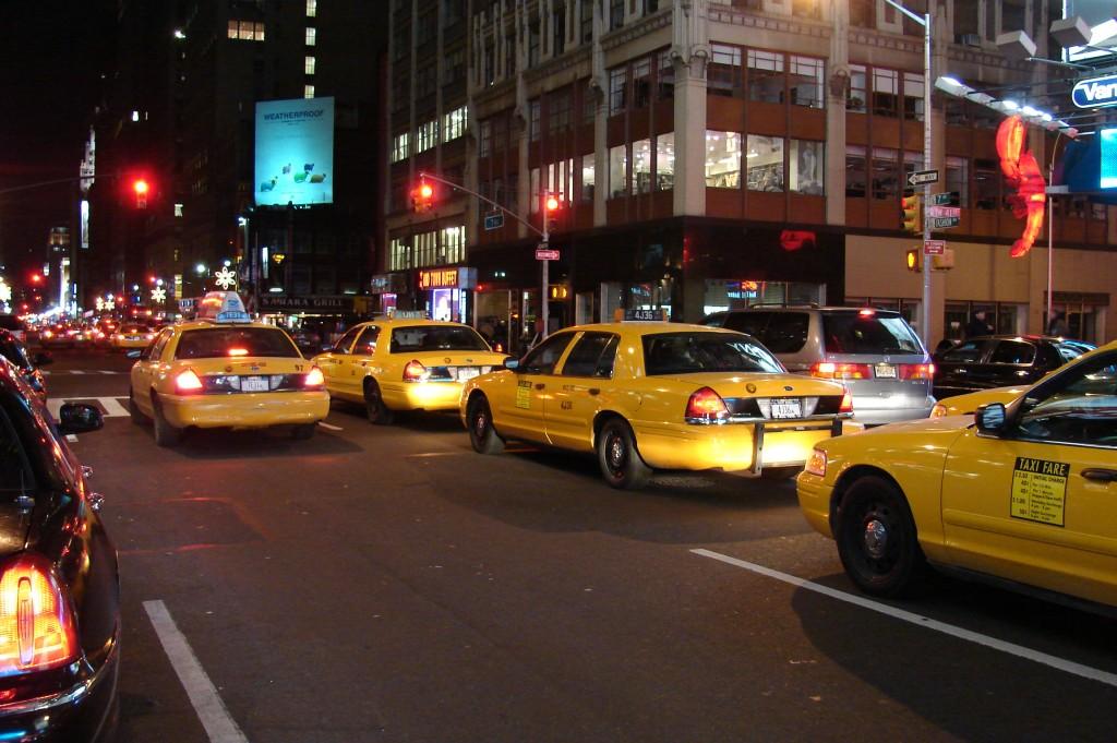 Quem nunca cochilou em um táxi durante um congestionamento? (Foto: Wikimedia Commons/ David R. Tribble)