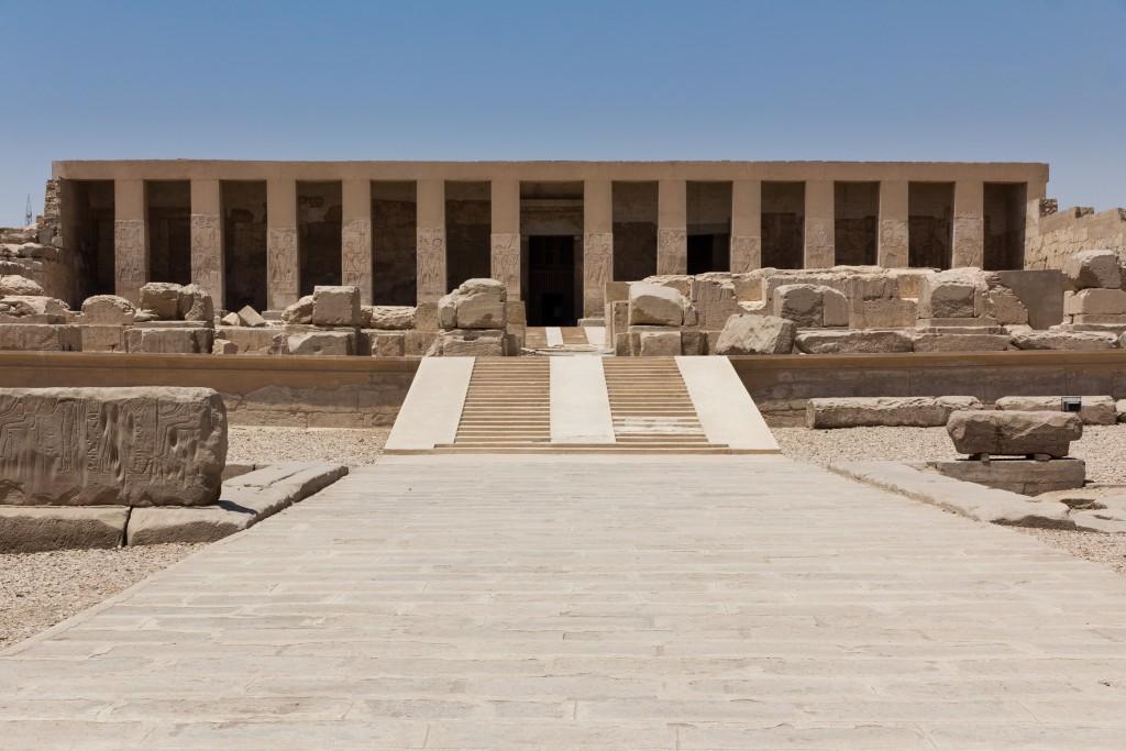Templo funerário de Seti I, em Abidos (foto: iStock/Cynfelyn333)