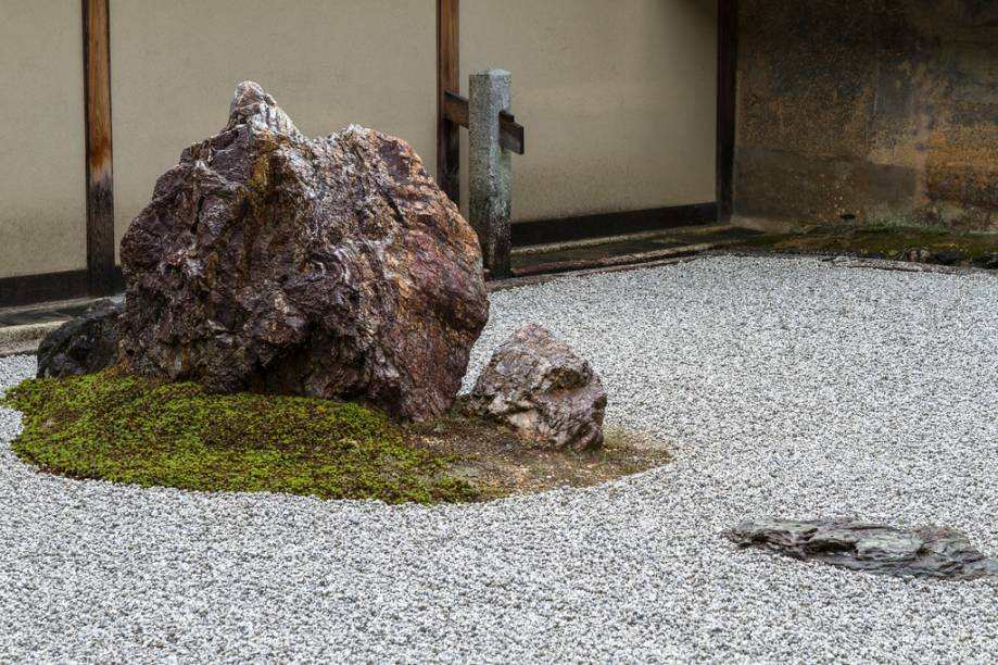 Jardim de pedras do templo Ryoanji