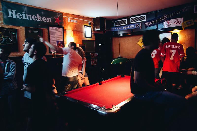 The Blue Pub, território pra ver jogos Divulgação