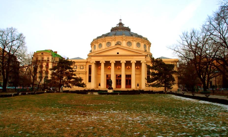 A beleza histórica da The Cretulescu Church de Bucareste, na Romênia. Assolada durante os conflitos do antigo regime do ditadorNicolae Ceausescue, a construção foi impecavelmente restaurada, e hoje em dia é considerada a mais importante da cidade
