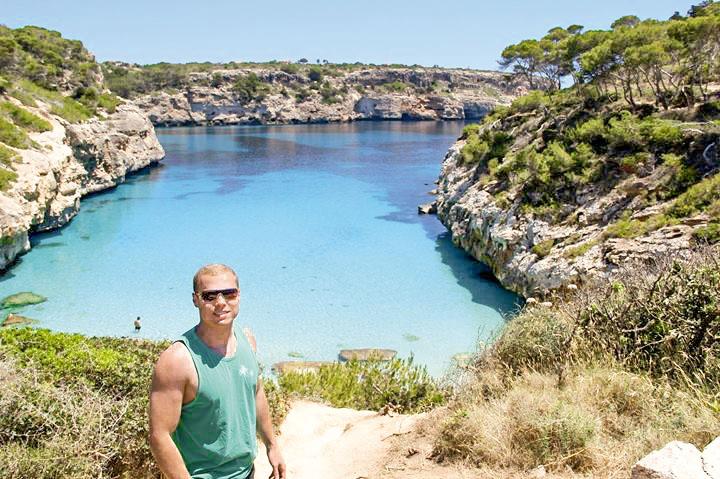EU FUI: Thiago Machado em Palma de Mallorca, na Espanha