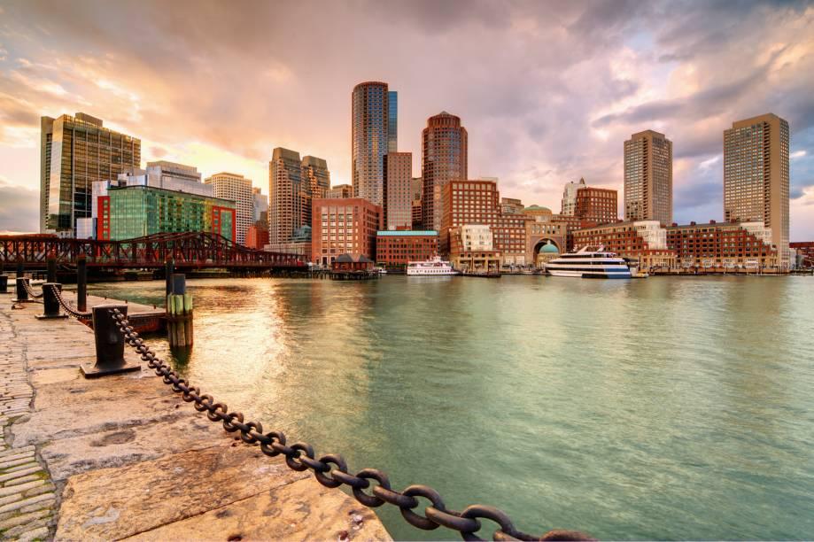 Vale a pena passear por Boston e se impressionar com a história e imponência local