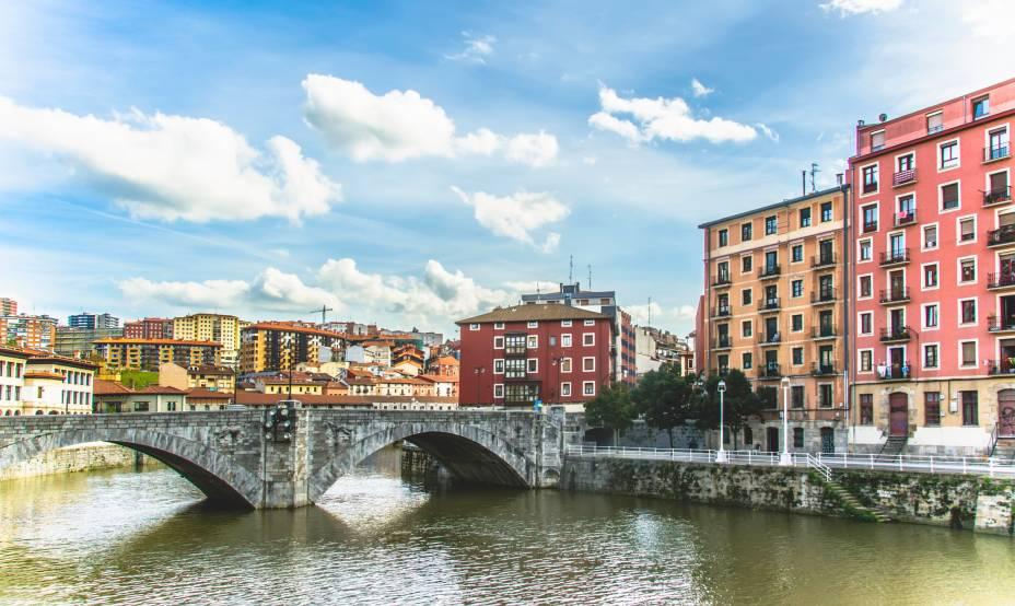 Bilbao já foi uma movimentada zona portuária