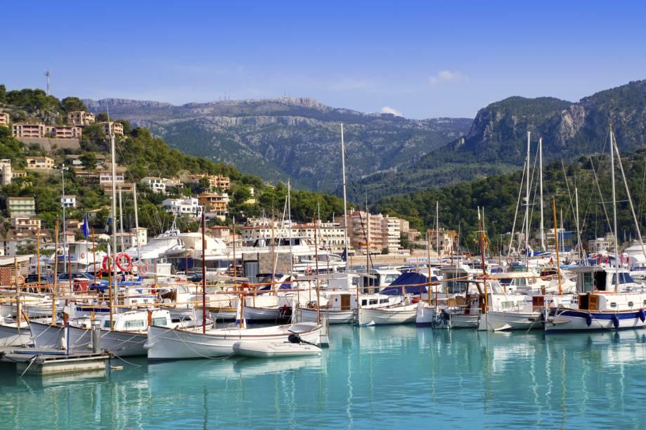 Porto de Soller, em Mallorca
