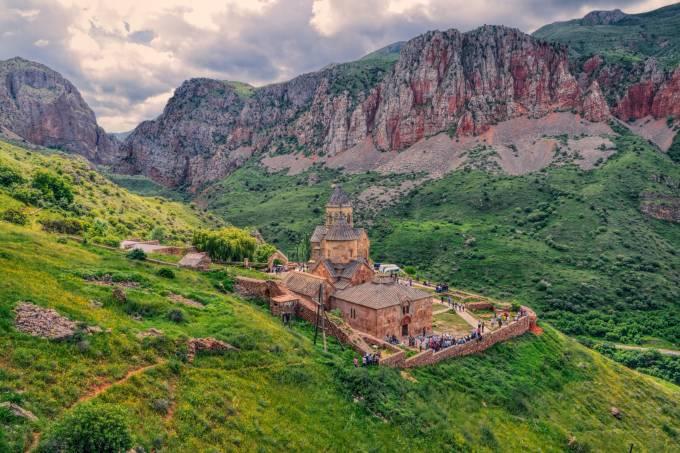 O Mosteiro de Novarank, na Armênia