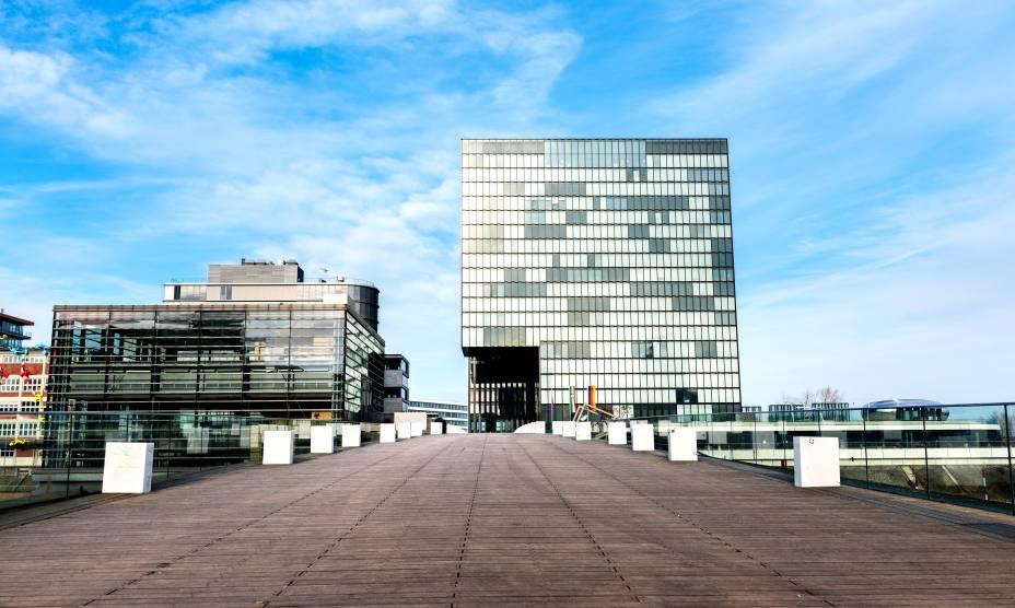 O ar cosmopolita de Düsseldorf, na Alemanha