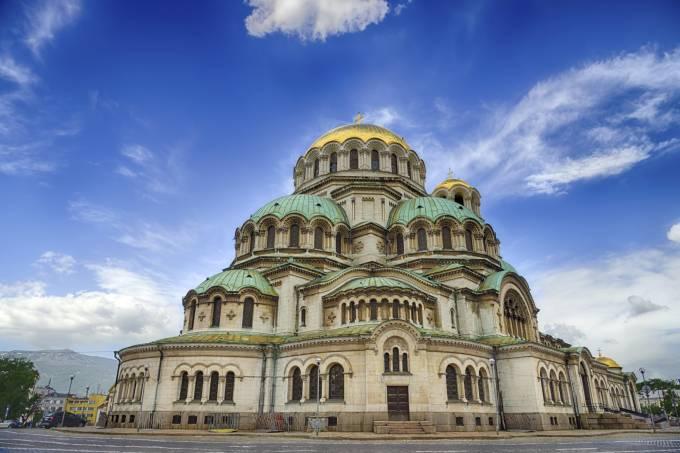 Catedral de St. Alexander Nevsky em Sofia, Bulgária
