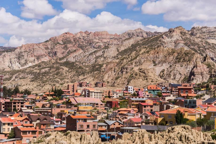La Paz está a mais de 3600 metros de altitude
