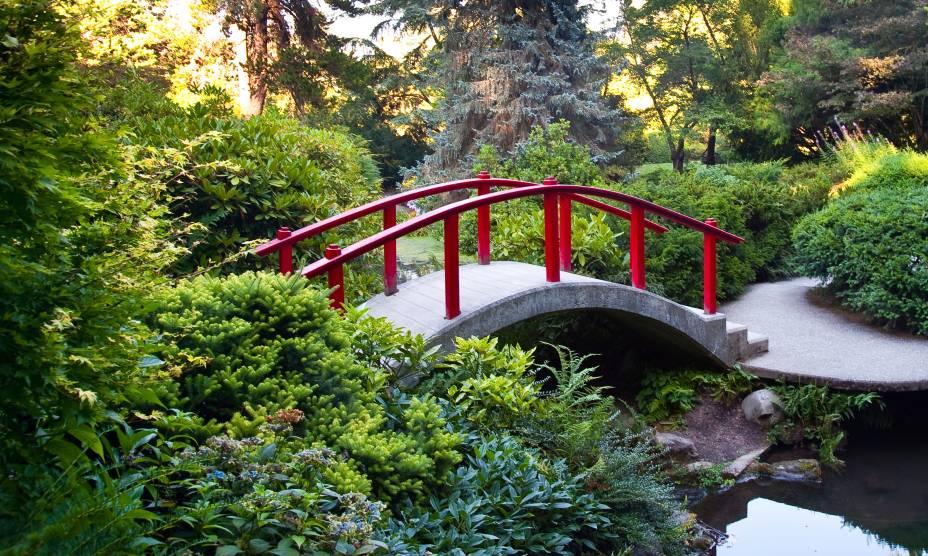 O lindo Kubota Garden de Seattle, em Washington, EUA