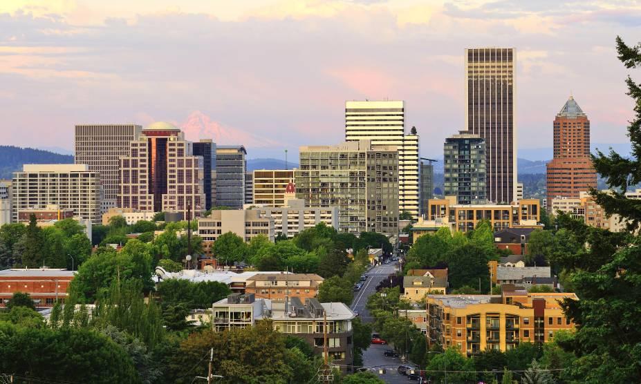 A cidade de Portland, USA