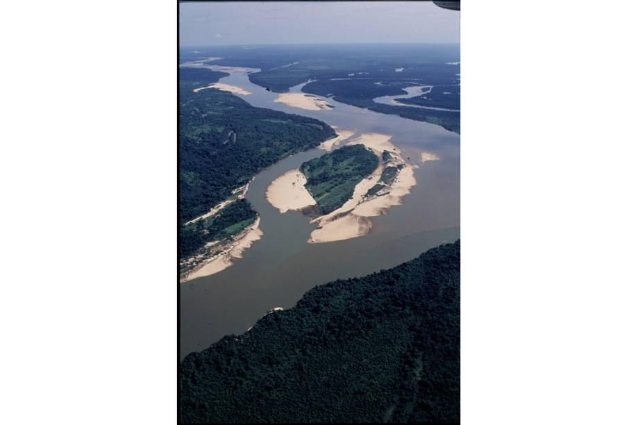 Rio Araguaia no Tocantins