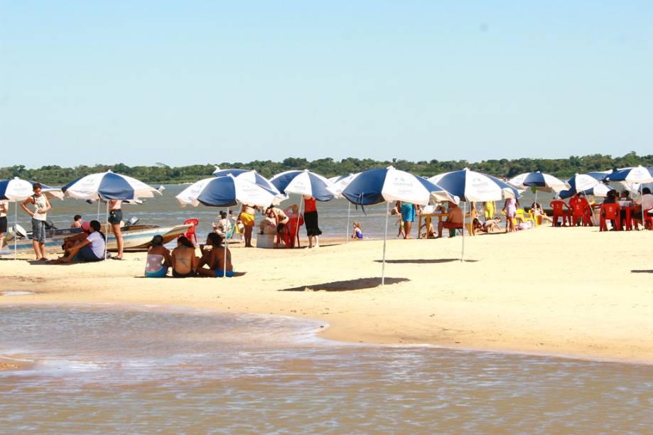 Praia da Gaivota em Araguacema, Tocantins