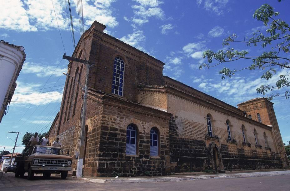 Catedral de Nossa Senhora das Mercês em Porto Nacional, Tocantins