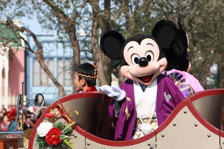A Tokyo Disneyland fica a cerca de 30 minutos do centro de Tóquio