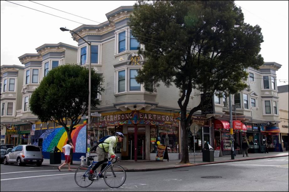 Haight and Ashbury foi sempre o epicentro da contracultura em San Francisco, juntamente com o bairro gay de Castro