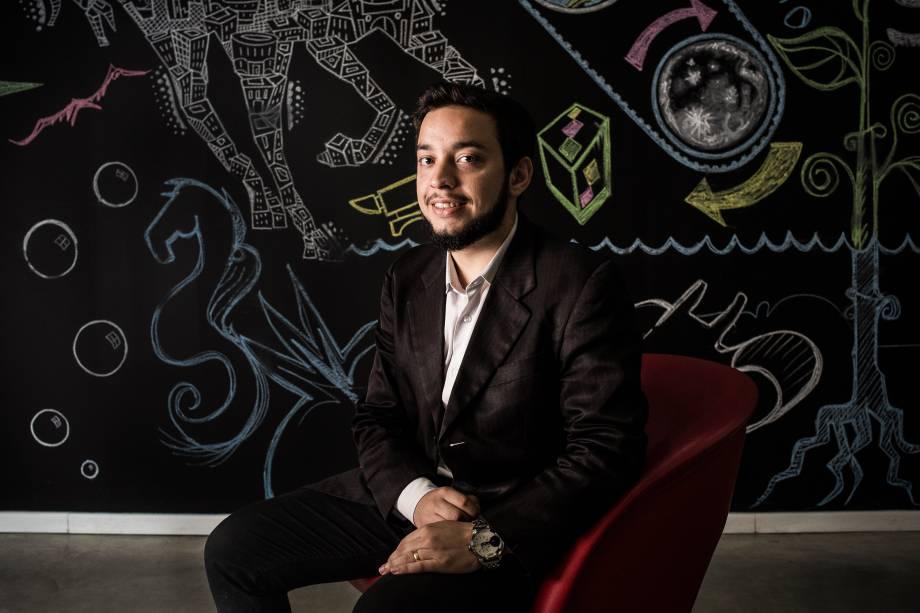 Carlos Ariston, da startupTrackage
