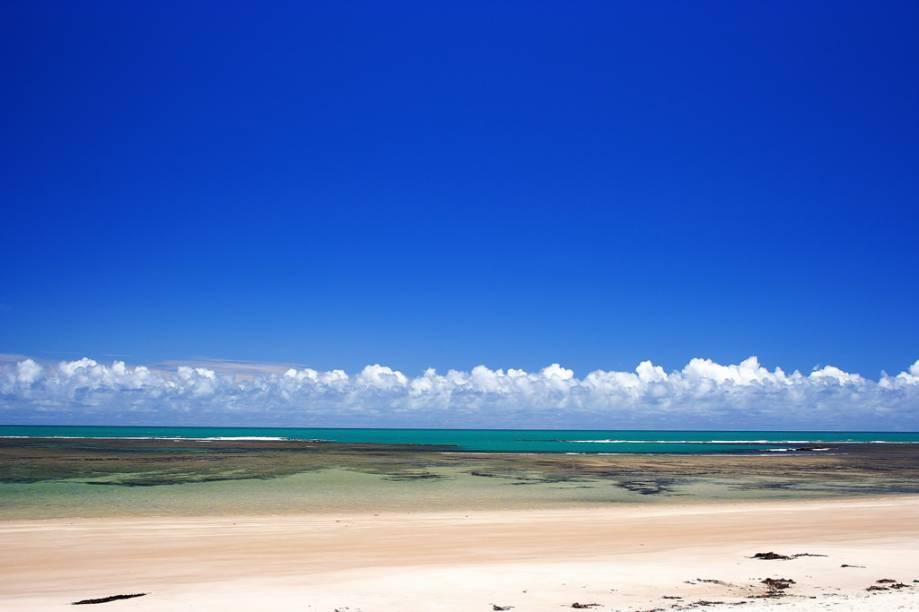 A praticamente deserta Ponta de Itaquena tem faixa de areia ampla e firme, ideal para caminhadas