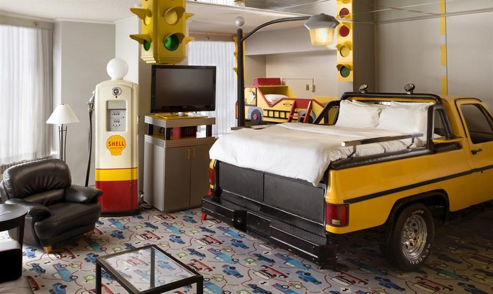 truck luxury theme