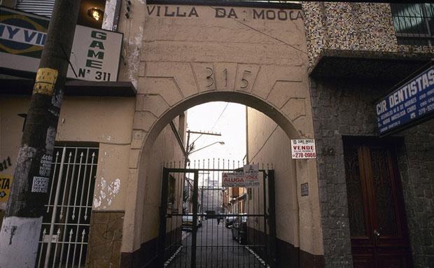 Uma das tantas vilas operárias da Mooca / Foto Eduardo Alabarello