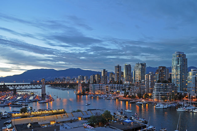 O skyline de Vancouver (foto: Harshil Shah/Flirck/creative commons)