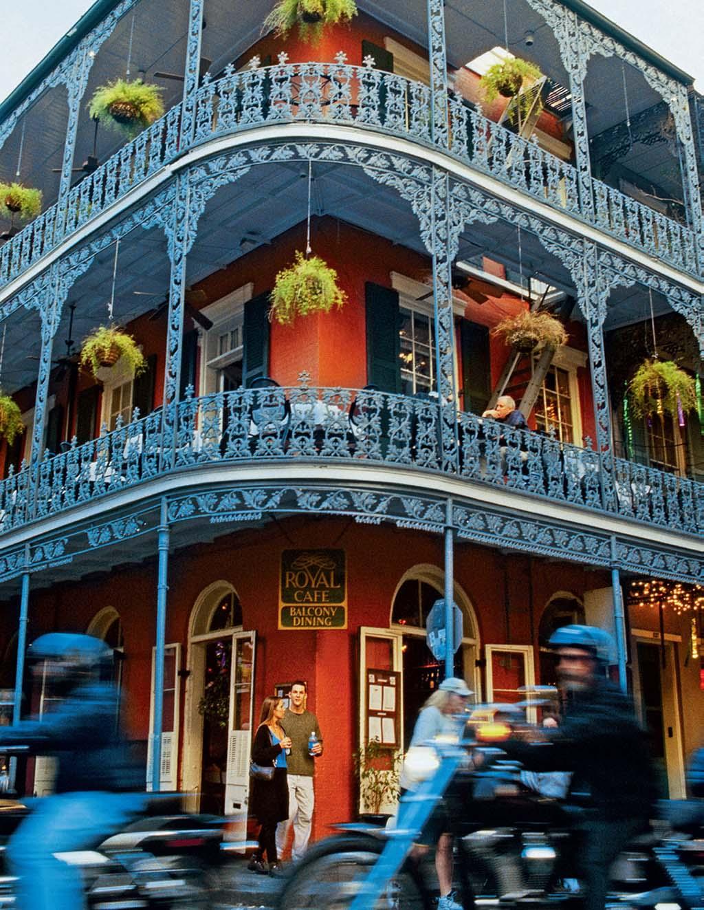 Varandas de ferro, em Nova Orleans