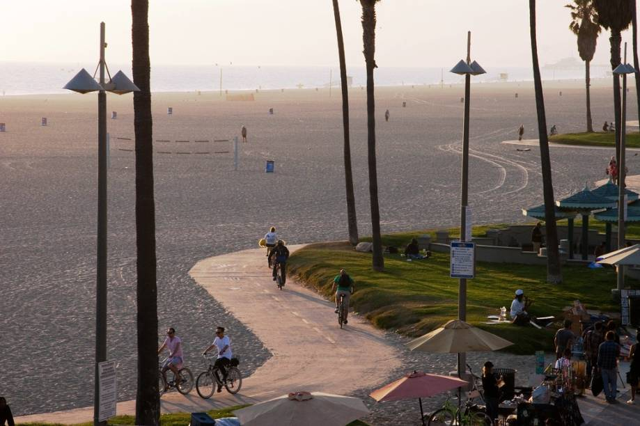 Sempre parece que é verão em Venice Beach