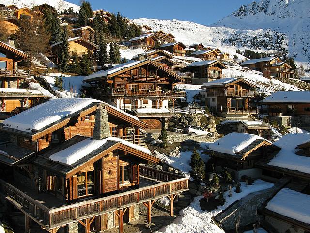 Verbier, nos Alpes Suíços (foto: Leo Seta/Flirck/creative commons)