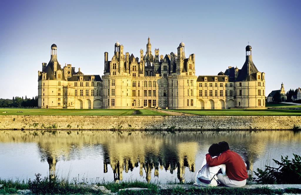 Castelo de Chambord, no Vale do Loire, França