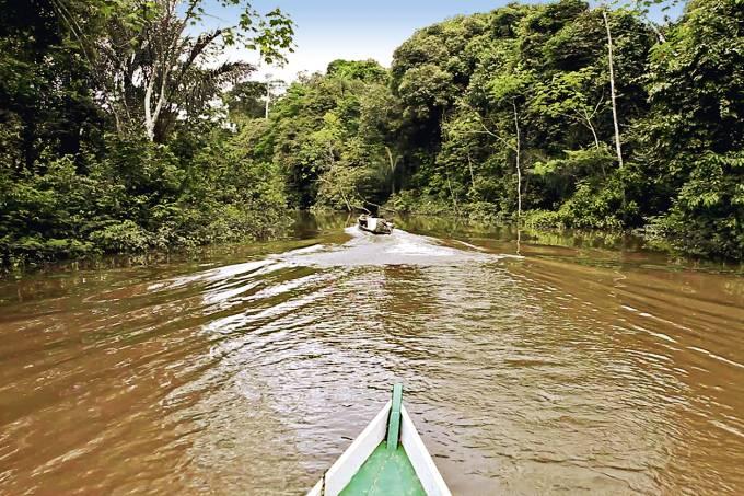 Viagem barco rio Javari concierge