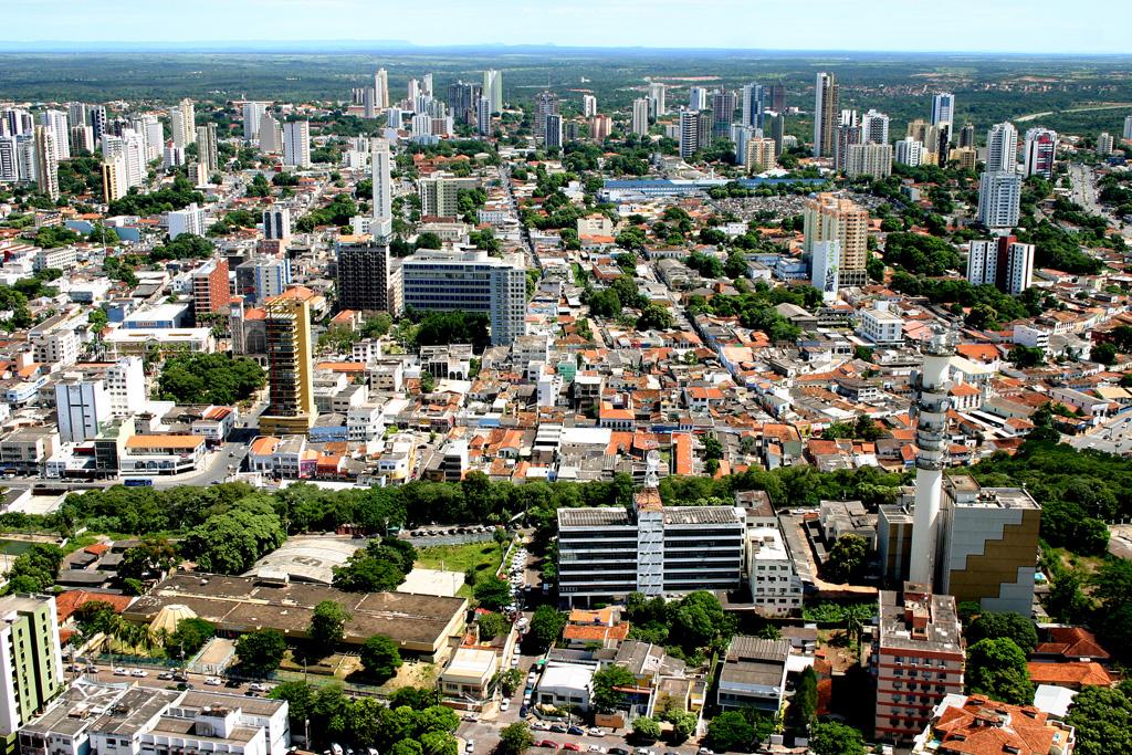Vista aérea de Cuiabá (MT)