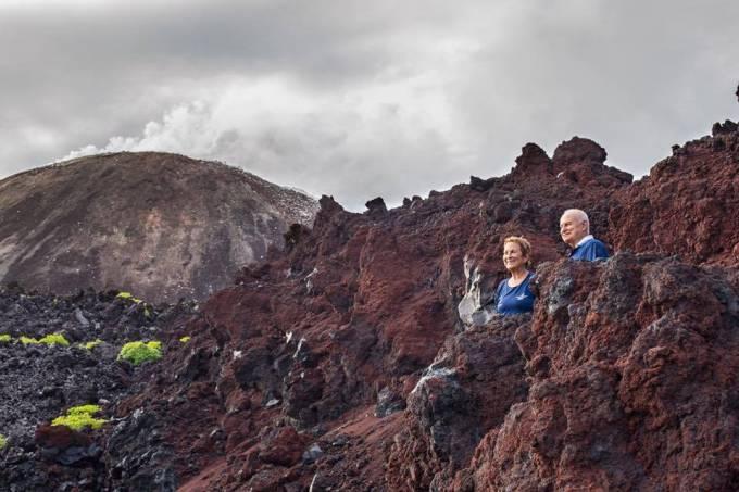 vulcão Anak Krakatoa