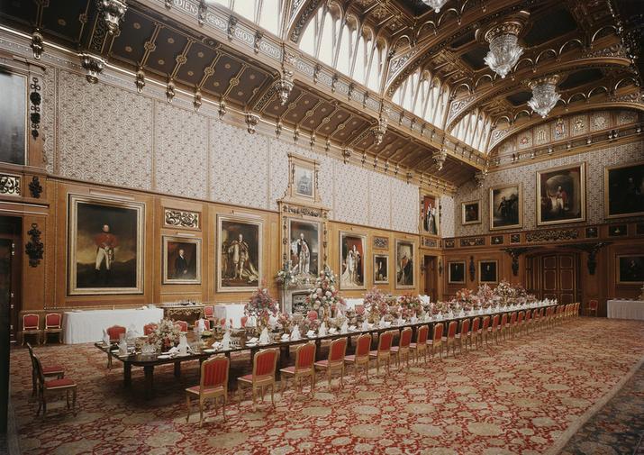 A Câmara de Waterloo foi projetada para comemorar a vitória na Batalha de Waterloo, que provocou a abdicação de Napoleão (foto: divulgação)