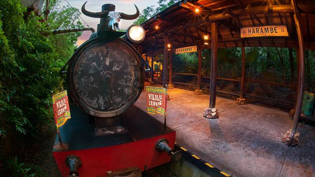 Wildlife Express Train (Foto: Walt Disney World)