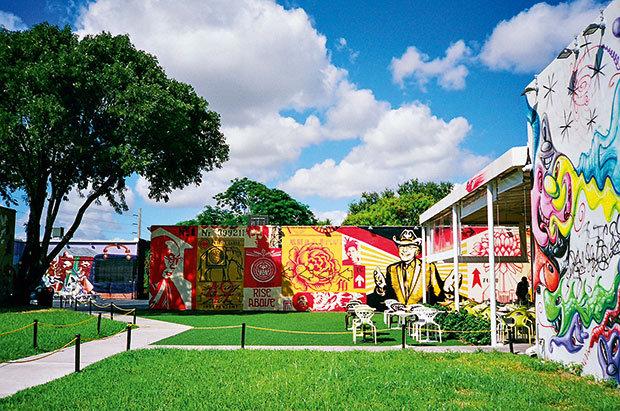 O Wynwood(foto acima) é o bairro do momento de Miami