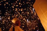 Yi Peng – Festival das Lanternas – Chiang Mai – Tailândia