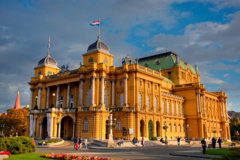 Ópera Nacional, em Zagreb