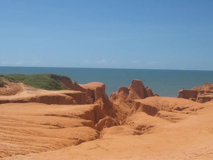 <strong>Falésias do Morro Branco, Beberibe</strong>