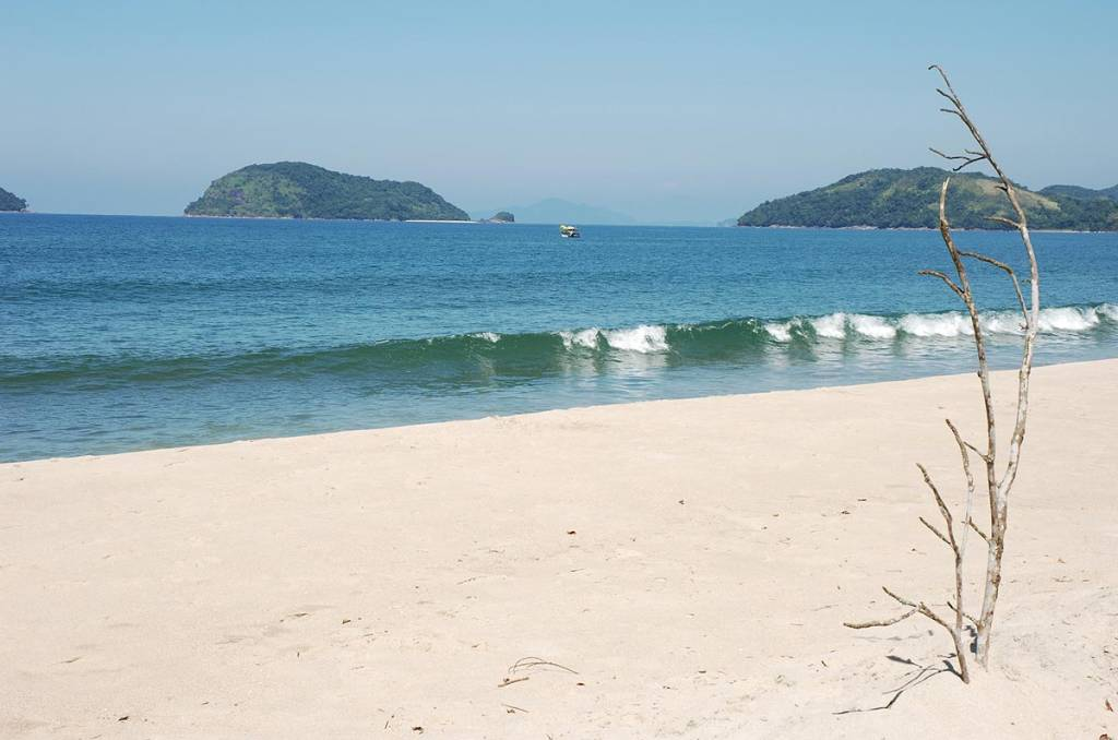 Praia Puruba, em Ubatuba (SP)