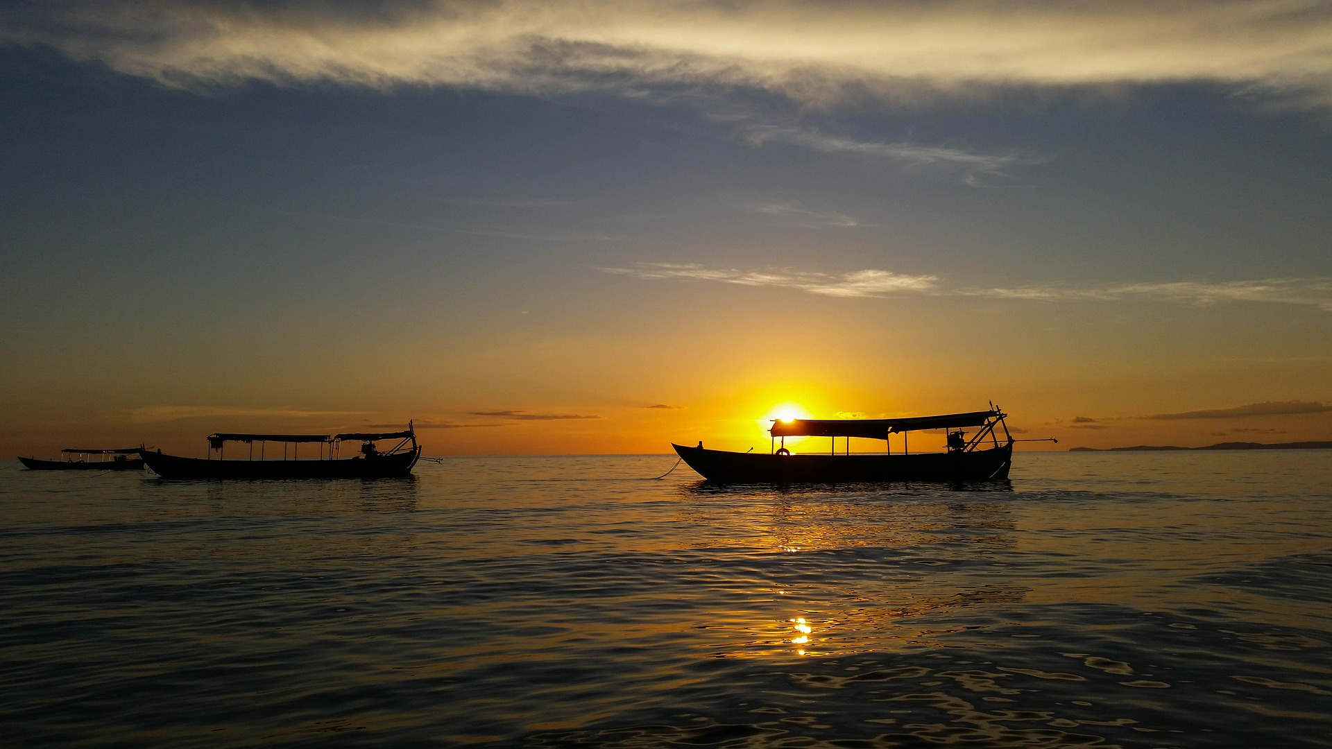 Sihanoukville, no Camboja, onde o meu passaporte foi passar férias sem im