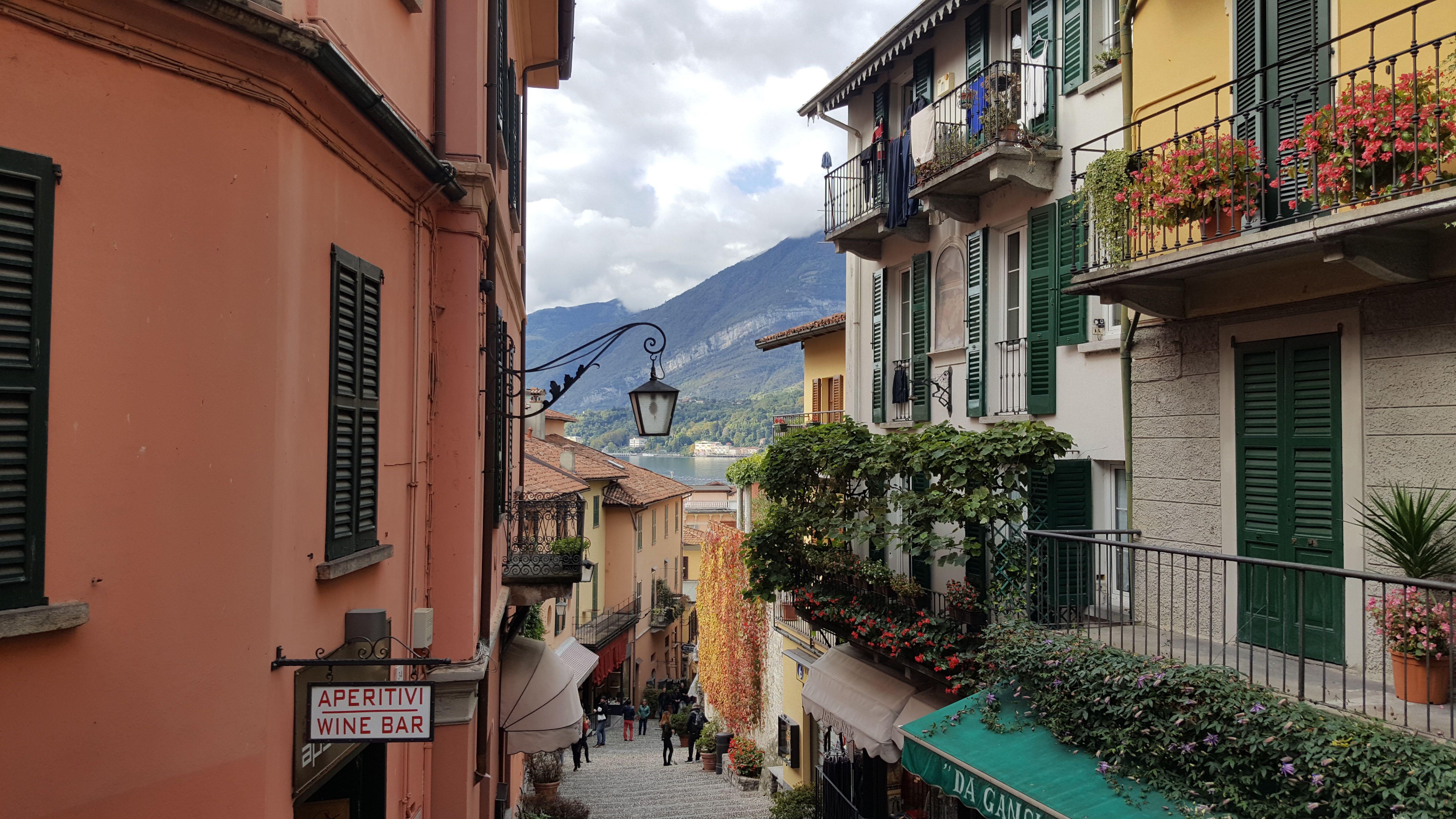 Bellagio, a cidade mais famosa do Lado de Como