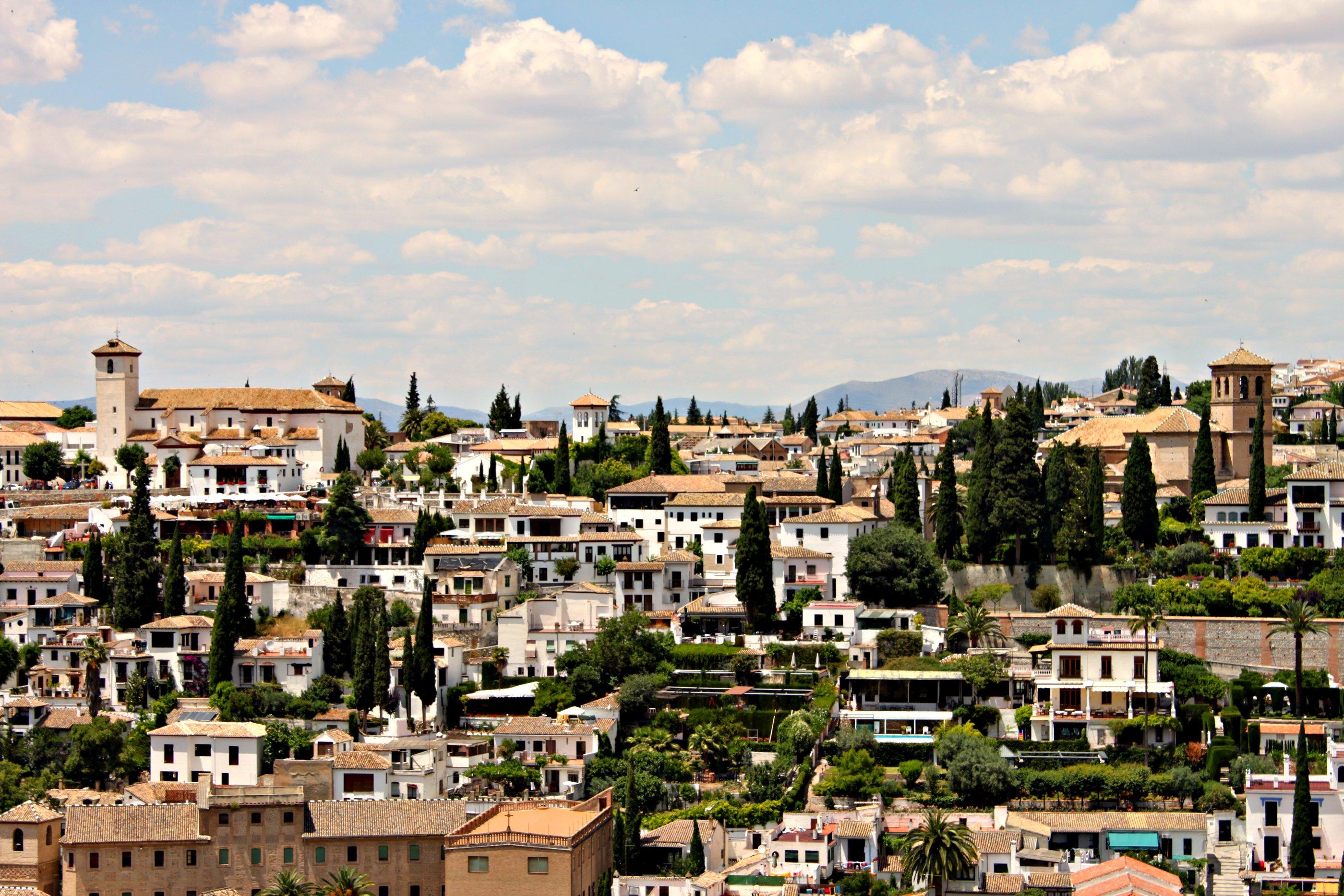 Granada Espanha vista-geral-da-cidade