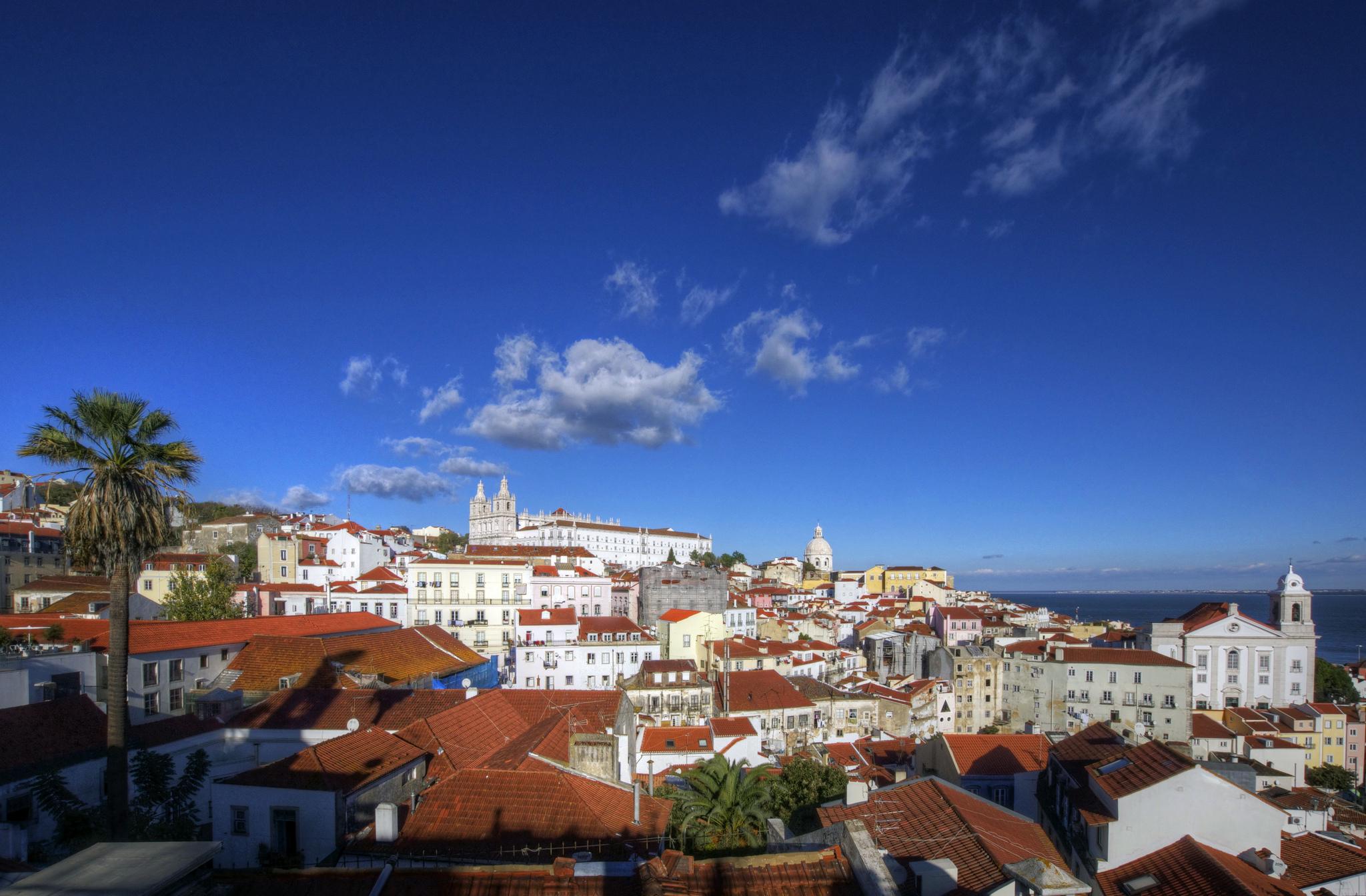 Lisboa, Portugal - vista geral da cidade