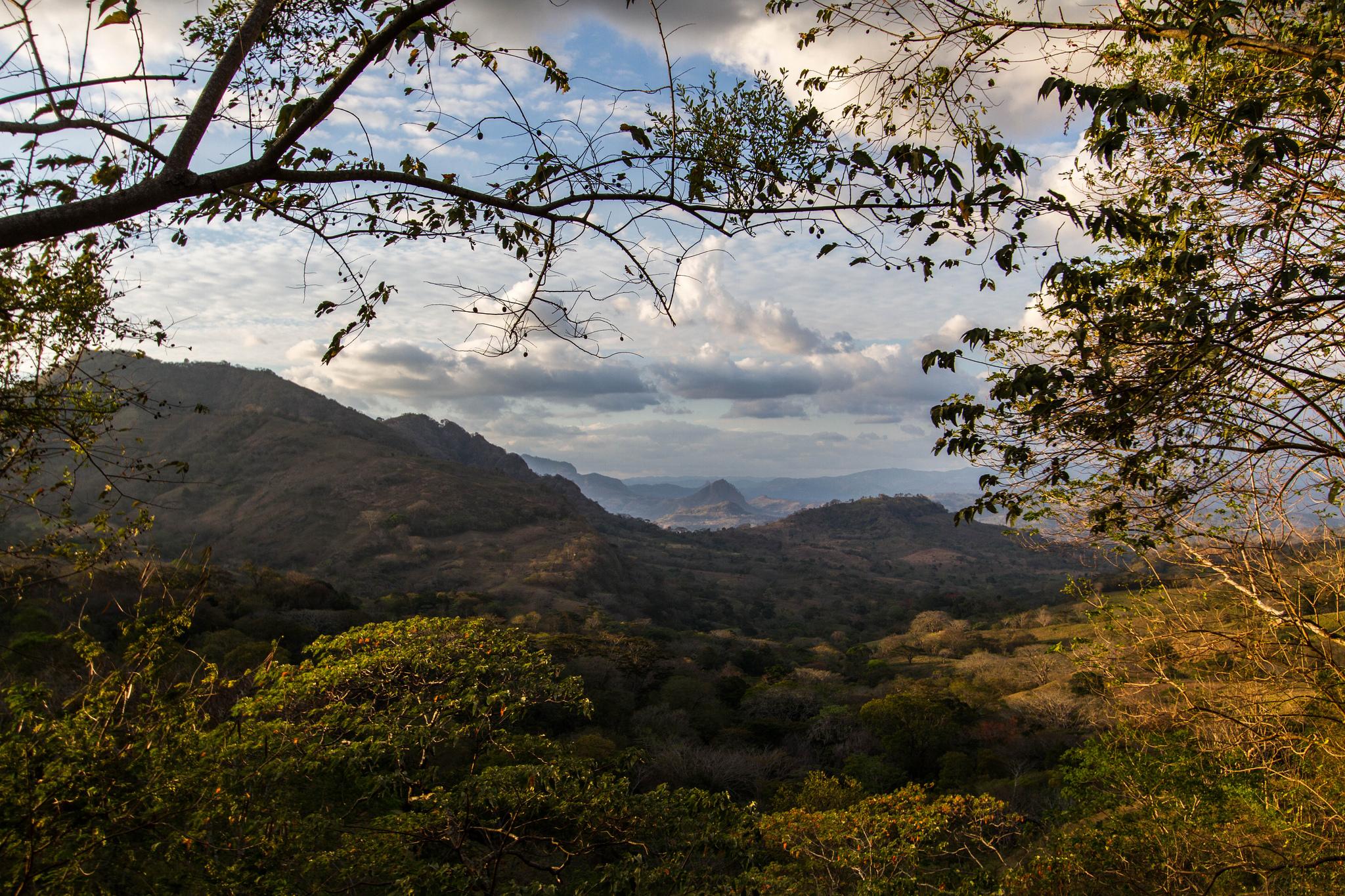 Montanhas na Nicaragua, América Central