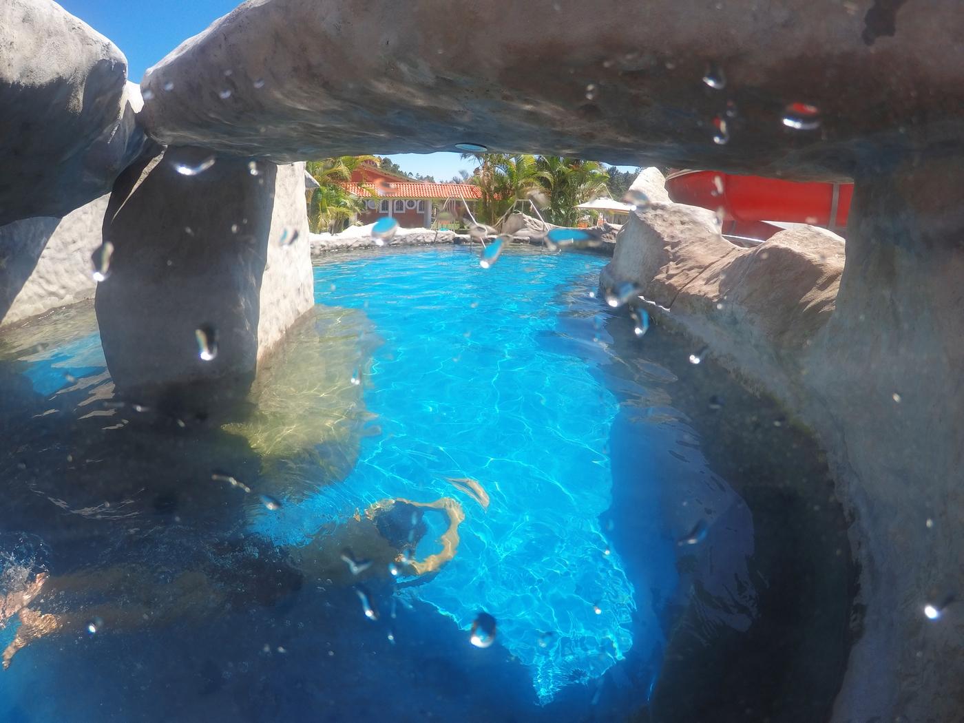 A nova piscina aquecida do Magic City