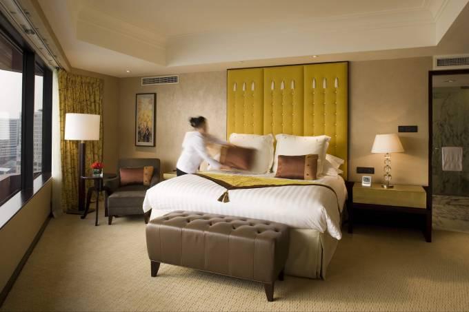 Suíte do hotel InterContinental Hong Kong